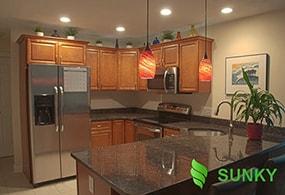 Những vị trí sử dụng đèn LED chiếu sáng cho nhà bếp tốt nhất