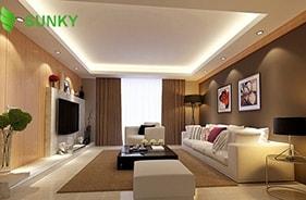 Tư vấn sử dụng đèn LED chiếu sáng cho phòng khách