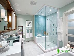 Lựa chọn đèn chiếu sáng tốt nhất cho phòng tắm