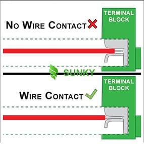 Sửa chữa đèn LED - Các vấn đề về dây