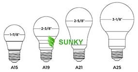 [Bóng đèn led BULB ] Hướng dẫn đọc hiểu mã số, hình dạng, kích thước