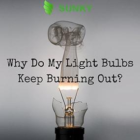 Tại sao đèn led bị cháy?