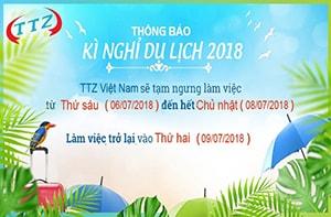 Thông báo về việc đi du lịch 2018