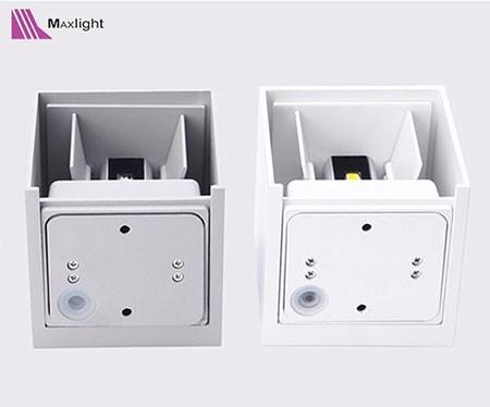 Cấu tạo đèn led gắn tường 10w Maxlight