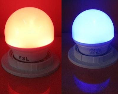 Bóng đèn led 2w nhiều màu FSL