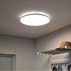 Ứng dụng chiếu sáng - đèn led ốp trần tròn 14w, 18w, 24w KOSOOM