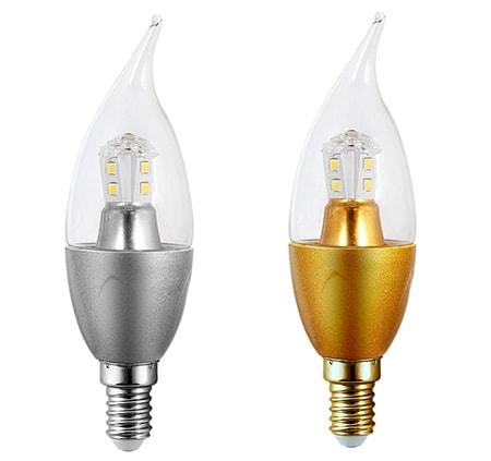 Bóng đèn led quả nhót - mẫu 2