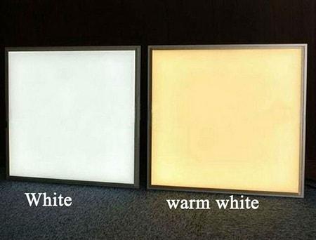 Hai lựa chọn ánh sáng vàng và trắng