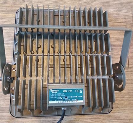 Đế tản nhiệt - đèn pha led 100W KOSOOM