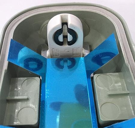 Đầu nối điện thông minh - máng tuýp led chống nước FSL