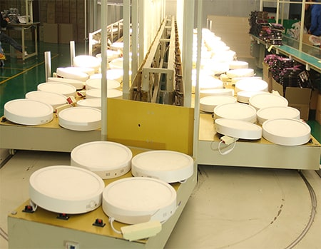 Xưởng chế tạo đèn led ốp trần tròn Maxlight