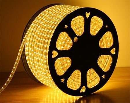 đèn led dây 220V chip 2835 cuộn 100m