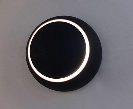 Đèn led gắn tường LWA010A-BK màu đen