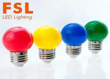 FSL bóng led RGB 2w nhiều màu
