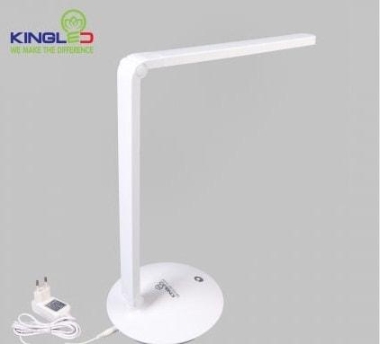Đèn để bàn 8w KingLED cơ cấu gập, ánh sáng trắng