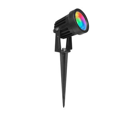 Đèn led cắm cỏ 7W đổi màu RGB
