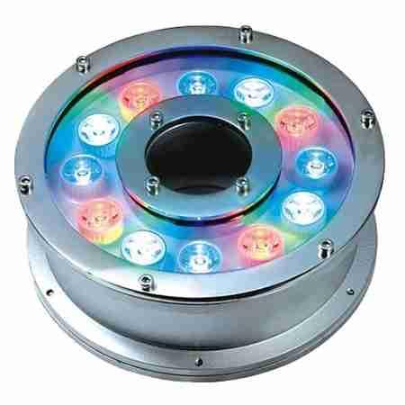 Bộ đèn led âm nước bánh xe RGB