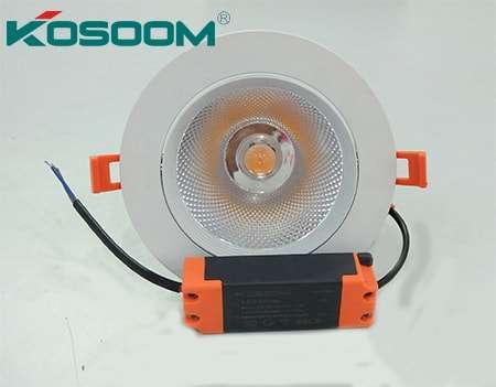 Kosoom- đèn âm trần chiếu điểm 5w, 12w, 18w chip COB