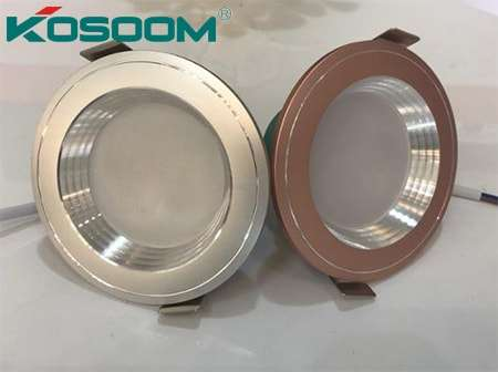 Kosoom đèn âm trần 5w đổi màu 3 chế độ
