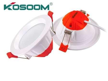 6w/8w/10w đèn âm trần Kosoom thân nhôm đúc
