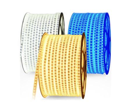 Đèn led dây 2835 mạch đôi trắng, vàng, xanh dương