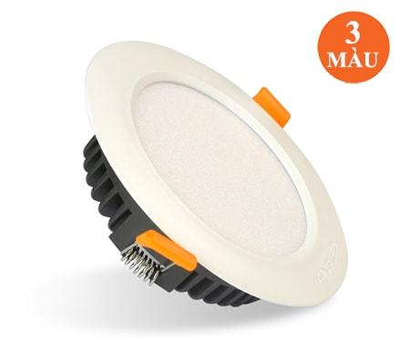 Bộ đèn đổi màu âm trần 6W/8W/12W DL-Series