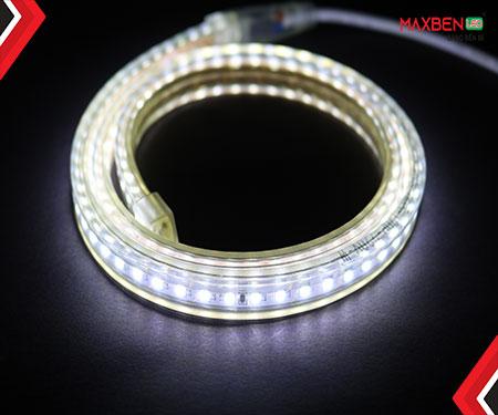 Đèn led dây DC220V chip 2835 7w/m cuộn 50m