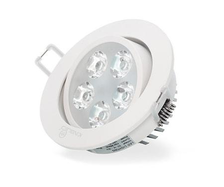 Đèn âm trần mắt ếch 5W/Ø85 ánh sáng chiếu rọi