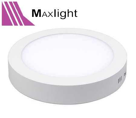 Bộ đèn led ốp trần nổi tròn - Maxlight