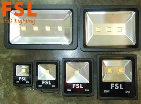 Bộ đèn pha led FSL - Chip COB, Ip65