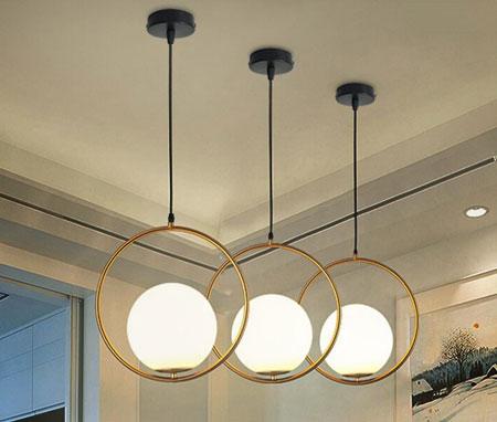 Đèn thả trần cho phòng ngủ, bàn ăn