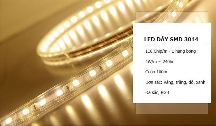 led day gia re chip 3014 cuon 100m