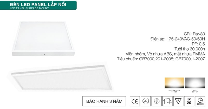 den led panel op tran kosoom