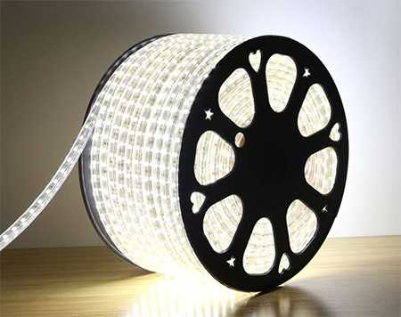 LED dây siêu sáng SMD 2835 220V cuộn 100m